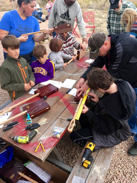 Diddley bow workshop