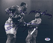 "Joe Frazier ""Keep the motor running."""