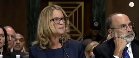Blasey Ford Gets Award from ACLU for 'Speaking Out'