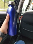 Carry own water bottle