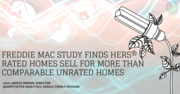 Freddie Mac Study Finds HERS® Rated Homes Sell for More Than Comparable Unrated Homes - Free CE Webinar