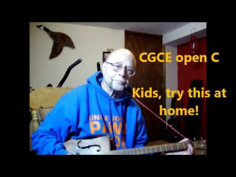 Versatility of CBGs   and an Open C tuning