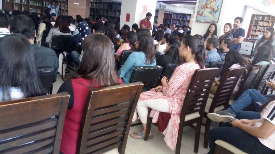School of Art and Architecture Library, Ansal University, Gurgaon, Haryana