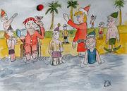 Santa holiday