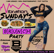 VIBRATIONS SUNDAYS Brunch & Day Party Everyone FREE with RSVP