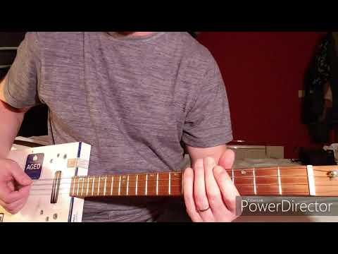 How To Play Sweet Home Alabama by Lynyrd Skynyrd on Cigar Box Guitar