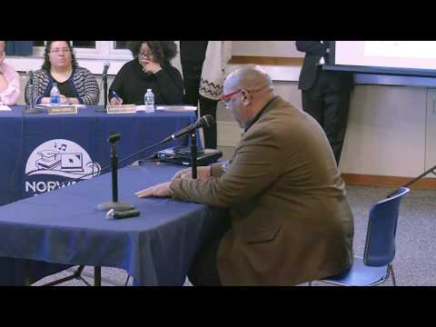 Board of Education: Scot Esdaile remarks