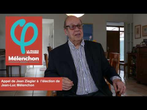 Jean Ziegler soutient Jean-Luc Mélenchon pour l'élection présidentielle 2017