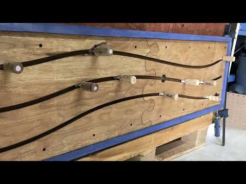 Parametric Rack to hang your staff