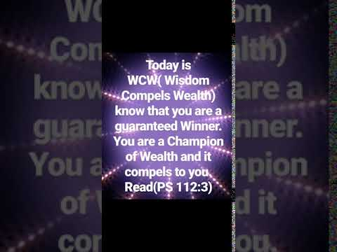WCW(Wisdom Compels Wealth)