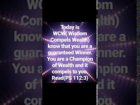 WCW(Wisdom Compels Wealth)