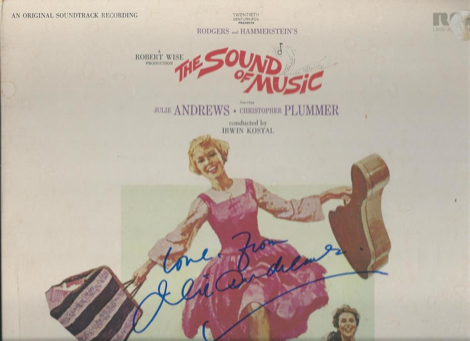 Julie Andrews signed Nov. 13, 2019 (d)