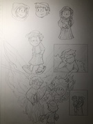 Christmas story adaptation p2 pencils