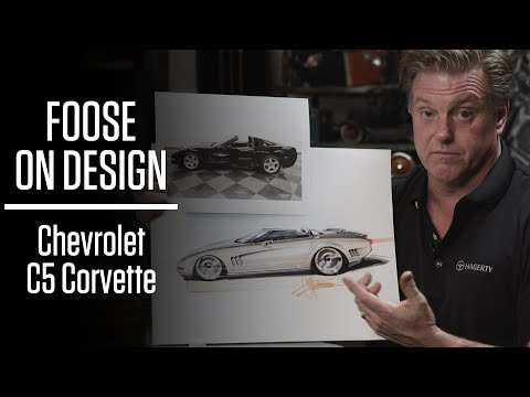Redesigning the soft lines of the Chevrolet C5 Corvette | Foose on Design - Ep. 2