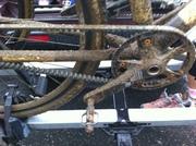 Mud + CX bike + Beltdrive = Masochistic Nirvana
