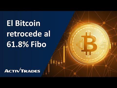 Video Análisis: El Bitcoin retrocede al 61.8% Fibo
