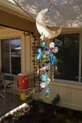 Recycled Parts into Yard Art