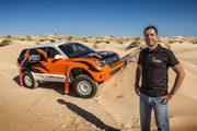 "The DACIA DUSTER of ""Kike"" Bonafonte ready to race the 2016 BAJA ARAGON"" in Spain"