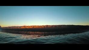 Going under wave