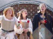 Subjects Half of The Singing Milkmaids, being Bonnie Kretschmer, Jenny Schwegmann and Jessie Northridge