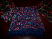 Loom Knitted Box Hat