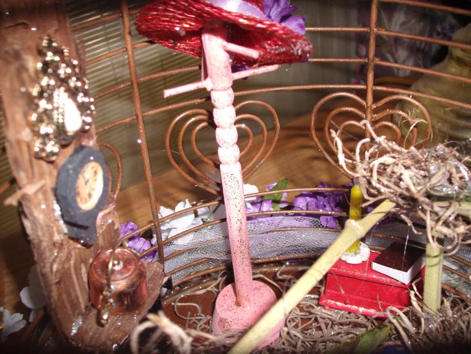A Fairy hat rack!