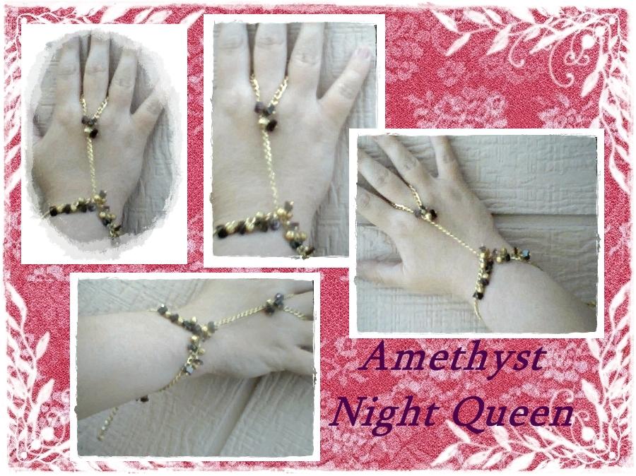 Amethyst Night Queen Bracelet at The Spellling Bee