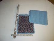 Crochet Pot holders and blankets