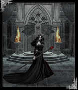 Dark Sorceress in Chamber
