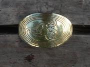 Celtic Triple Spirals - Triskele Hair Tie