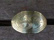 Celtic Double Spirals Hair Tie