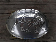 Large Celtic Boar Belt Buckle