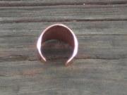 back shot of copper adjustable ring