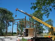 rescue of antique timber frame barn