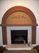 Miller fireplace updating