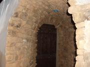 Shelter door entrance