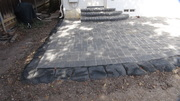 Concrete brick  paver and  Concrete  stone  curb