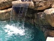 Waterfall sheet