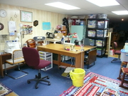 Annie's sewing room
