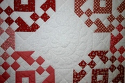 Detail - Center quilting