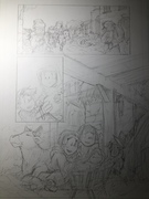 Christmas story adaptation p3 pencils