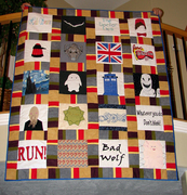 Dr Who Quilt