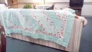 one of two quilts