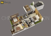 Best 3D Floor plan outsourcing company
