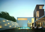 architectural exterior rendering service