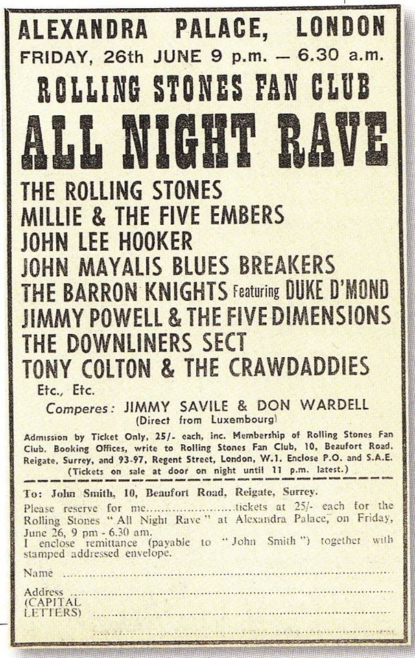 All Night Rave 1964