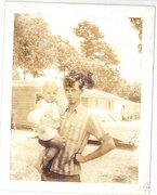 Pat holding daughter Rhonda