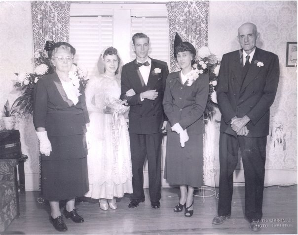 Sam Mullin's wedding