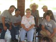 Grandma and her boys.. minus one