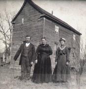 William Anna and Ida Scheer